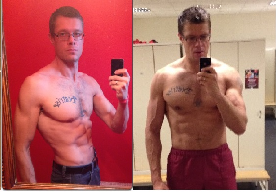 12 week progress (bulking!)